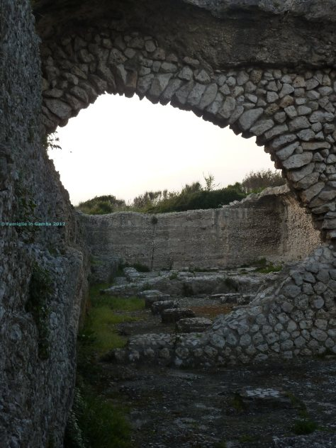 parco gianola - cisterna di villa mamurra