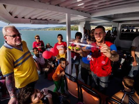 scienza per bambini Isola di Einstein, lago trasimeno, umbria.