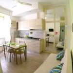Appartamento Domus Lauri-salotto-cucina