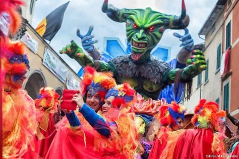 Carnevale di Foiano. Family weekend tra Umbria e Toscana