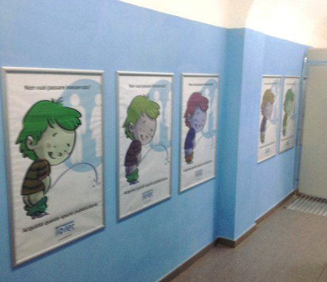 City Toilet Roma-area bambini AroundFamily