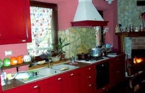 cucina dell'Agriturismo Podere Morgana