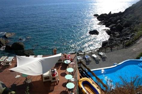 Vista dall'alto del Resort La Francesca
