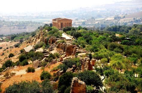 Vista della Valle dei Templi