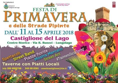 Festa di Primavera 2018 a castiglione del Lago