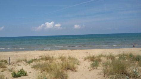 vacanze puglia gargano bambini - spiaggia di foce varano