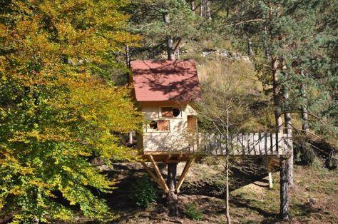 weekend bambini casa sull'albero tree village