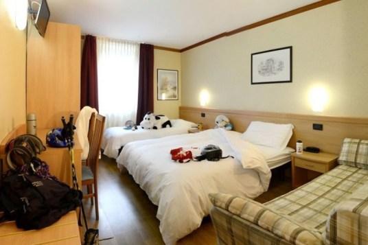 Hotel vittoria folgaria family room
