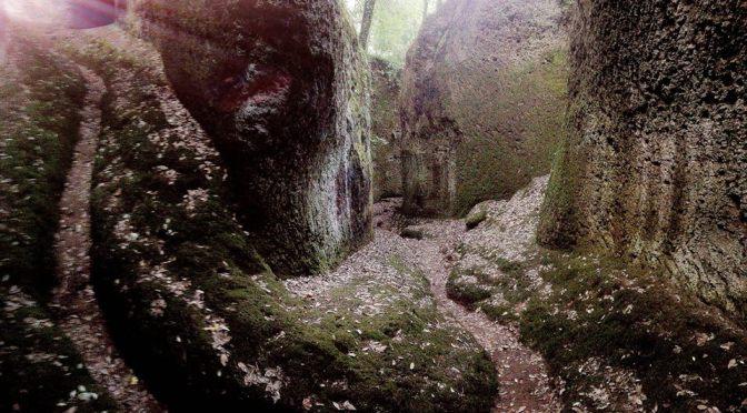 Weekend con i bambini in Toscana, le vie Cave di Sorano e Pitigliano