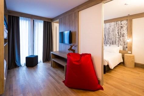 family hotel montagna piemonte mirtillo rosso le camere