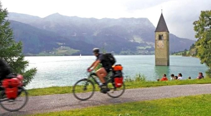 campanile sommerso in Val Venosta-sudtirol