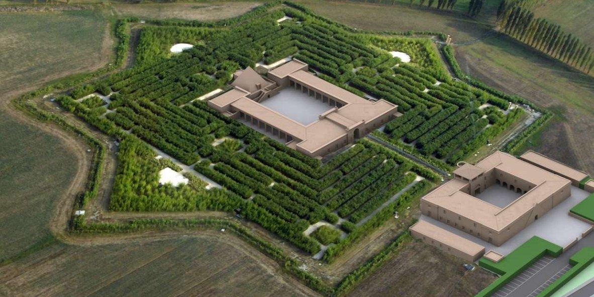 Il-labirinto-monumentale-di-Franco-Maria-Ricci-a-Fontanellato