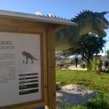 Parco dei dinosauri-Borgo Celano-cartelli informativi