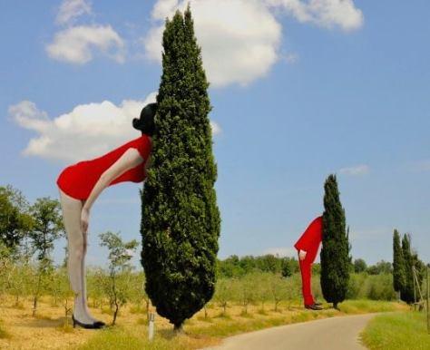 43 idee per un weekend con i bambini Toscana_parco scultura del chianti