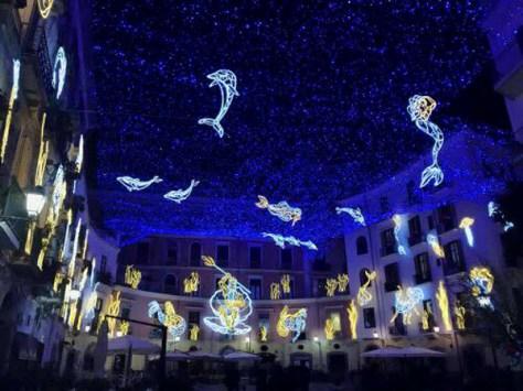 Natale per bambini Luci d'artista-Salerno