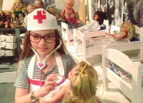 Ospedale delle Bambole a Napoli