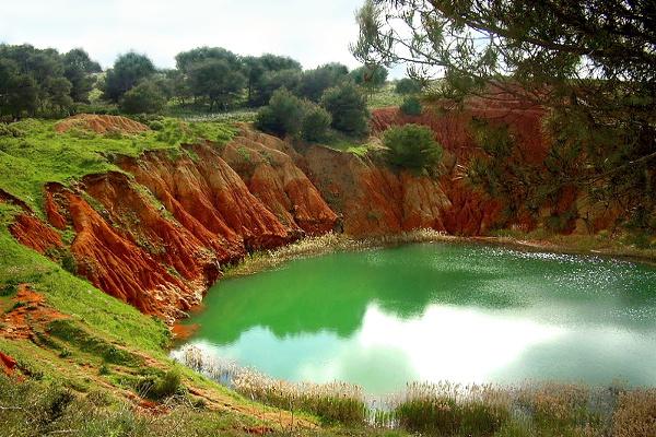 Otranto-lago di Bauxite