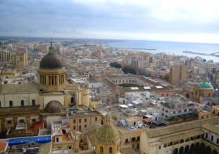 Sicilia con i bambini itinerario trapanese Marsala-vista dall'alto