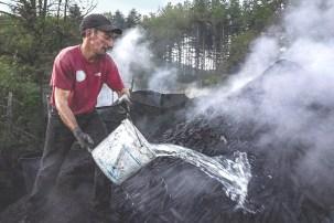 Antiche Carbonaie-preparazione