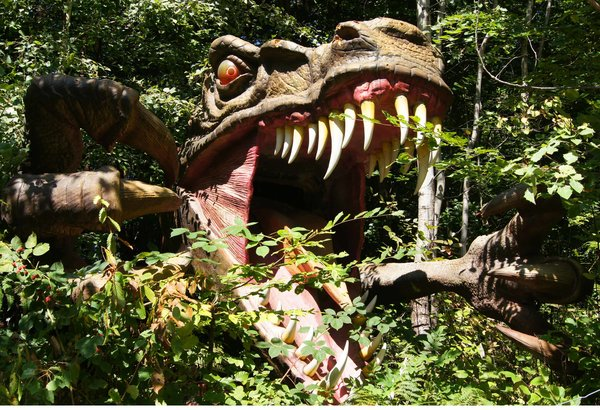 bambini parchi dinosauri europa austria strassyc park