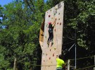 Parco Adrenalina Verde-muro arrampicata