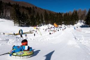 Comprensorio sciistico Cimone- piste e babypark