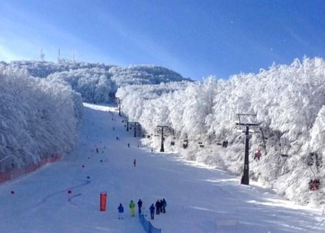 Dove sciare con i bambini in Toscana ed Emilia Romagna Appennino tosco emiliano Comprensorio sciistico Monte Amiata-vista