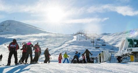 Dove sciare con i bambini in Toscana ed Emilia Romagna Appennino tosco emiliano Comprensorio Corno alle Scale-vista