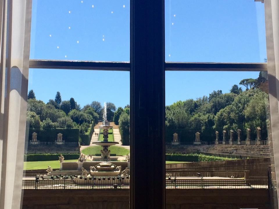Visitare Firenze con i bambini giardino di Boboli