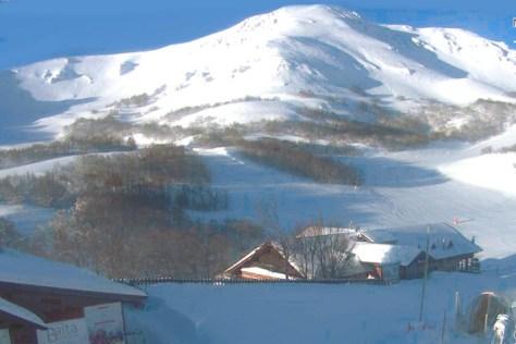 Dove sciare con i bambini in centro Italia ovindoli-vista