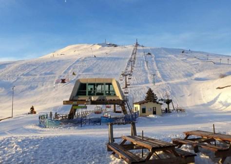 Dove sciare con i bambini in centro Italia marche sarnano-sassotetto