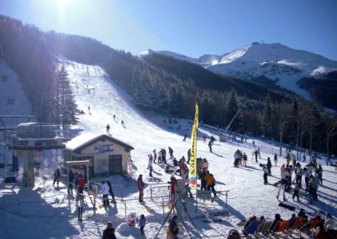 Dove sciare con i bambini in centro Italia scanno- passo godi-vista