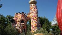 Toscana per bambini giardino dei tarocchi