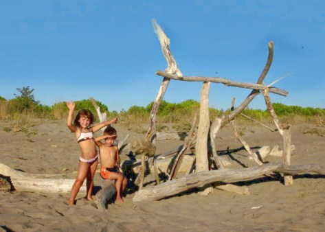 Residence Mareblu-bimbi in spiaggia