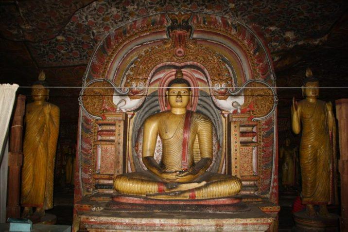 Sri Lanka tempio icona