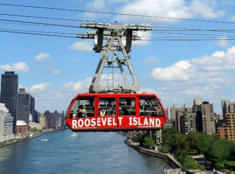 Viaggio a New York per famiglie-New Roosevelt tram