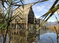 lago di garda per bambini Parco Palafitte di Ledro-palafitte