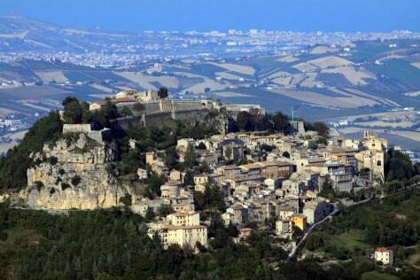 Castelli da visitare con i bambini castello fortezza di Civitella del Tronto