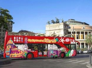 Palermo-bus turistico
