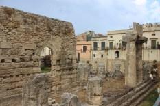 Ortigia-tempio di Apollo