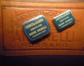 Museo della Liquerizia Amarelli-scatoline originali