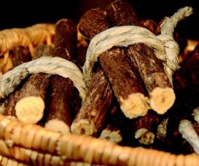 Museo della Liquerizia Amarelli- tronchetti liquerizia