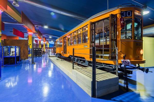 Museo della Tecnica Elettrica-tram e modernità