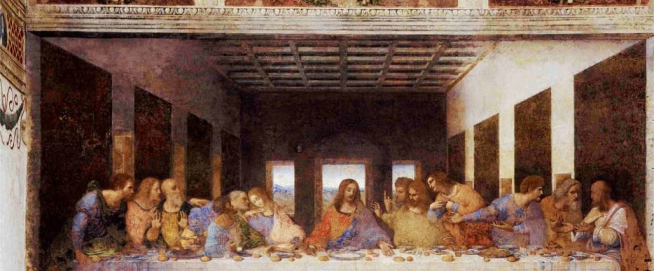 milano con i bambini cenacolo leonardo
