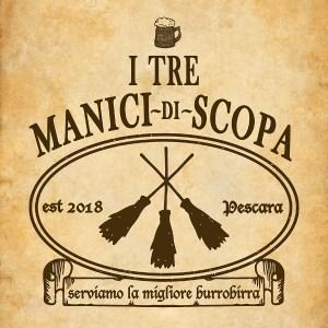 tre manici di scopa-Pescara
