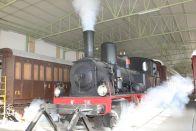 museo ferroviario lecce - locomotiva vapore