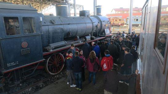 museo ferroviario piemontese - locomotiva