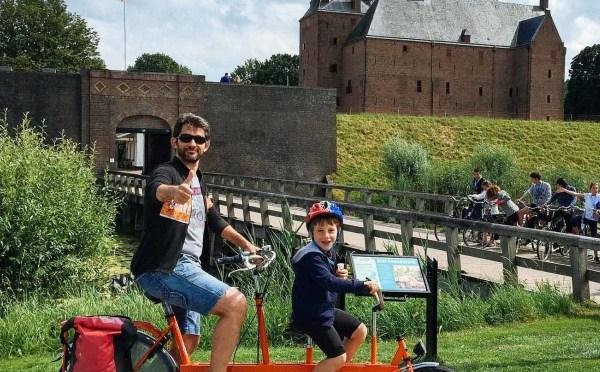 In Olanda in bici e in barca. Viaggio per famiglie a pedali