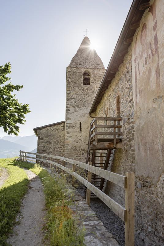 Alto adige val venosta con i bambini monastero di san giovanni