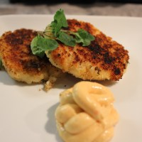 Newfoundland Fishcakes with Spicy Aioli